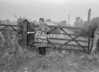 SJ938617B, Ordnance Survey Revision Point photograph in Greater Manchester