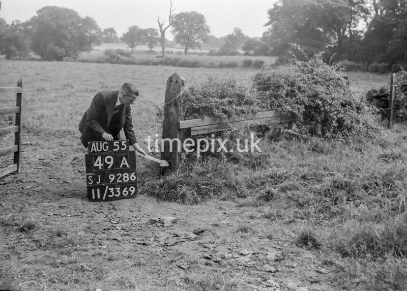 SJ928649A, Ordnance Survey Revision Point photograph in Greater Manchester