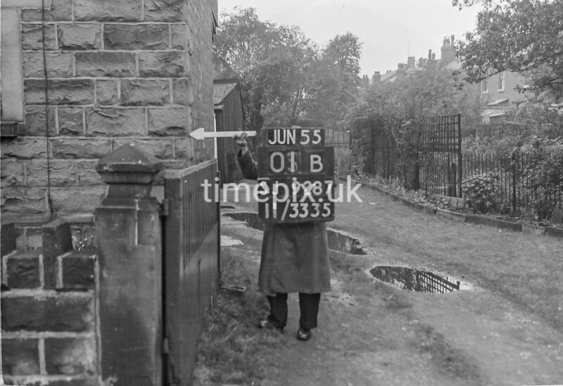 SJ928701B, Ordnance Survey Revision Point photograph in Greater Manchester