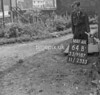 SJ918764B, Ordnance Survey Revision Point photograph in Greater Manchester