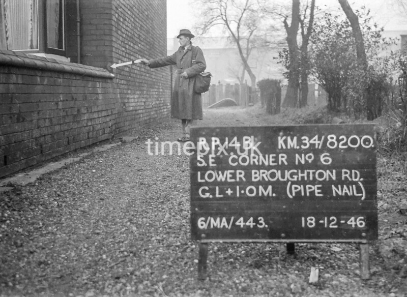 SD820014B, Ordnance Survey Revision Point photograph in Greater Manchester