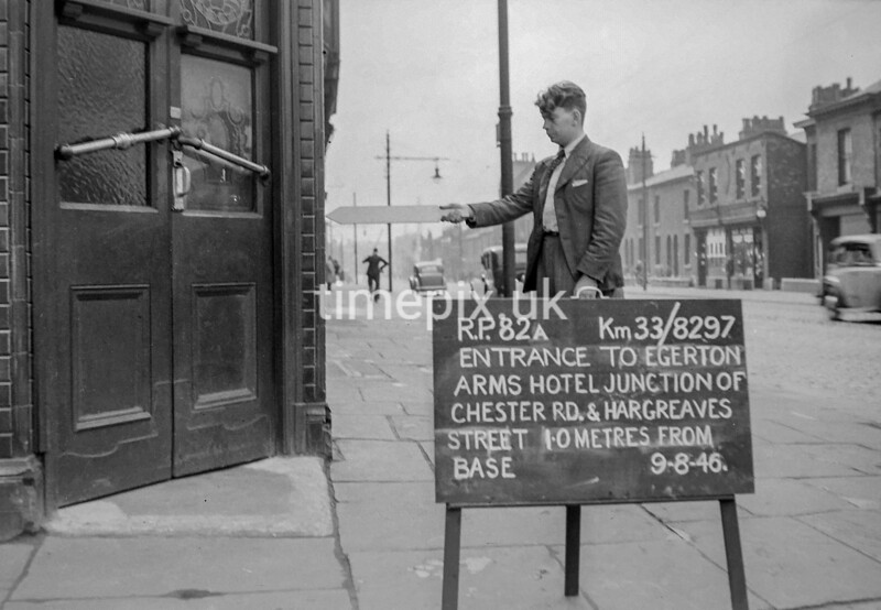 SJ829782A, Ordnance Survey Revision Point photograph in Greater Manchester