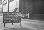 SJ849860C, Ordnance Survey Revision Point photograph in Greater Manchester