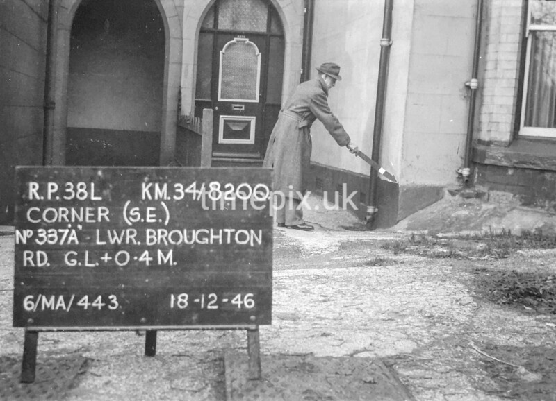 SD820038L, Ordnance Survey Revision Point photograph in Greater Manchester