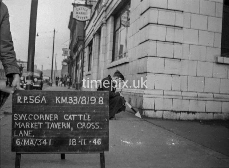 SJ819856A, Ordnance Survey Revision Point photograph in Greater Manchester