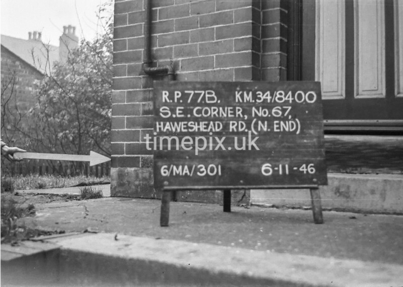 SD840077B, Ordnance Survey Revision Point photograph in Greater Manchester