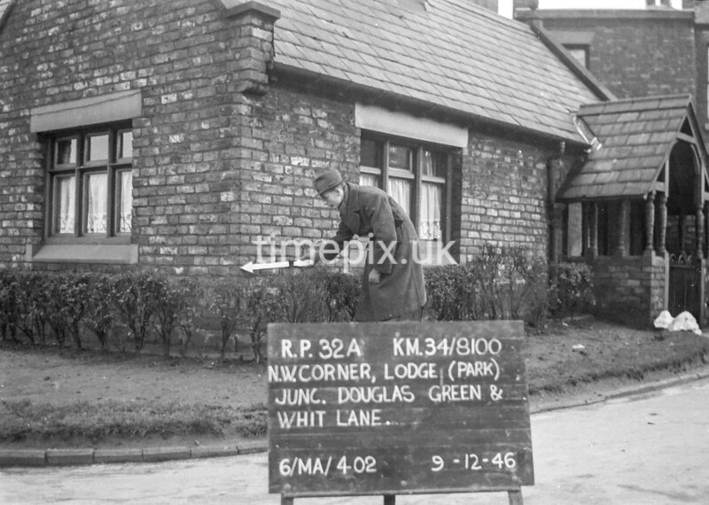 SD810032A, Ordnance Survey Revision Point photograph in Greater Manchester