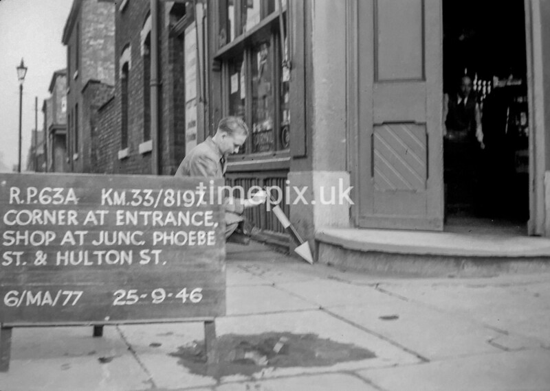 SJ819763A, Ordnance Survey Revision Point photograph in Greater Manchester