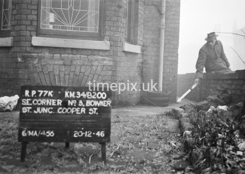 SD820077K, Ordnance Survey Revision Point photograph in Greater Manchester