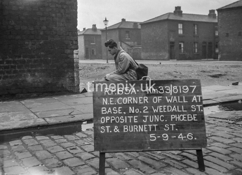 SJ819765A, Ordnance Survey Revision Point photograph in Greater Manchester