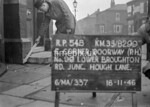 SJ829954B, Ordnance Survey Revision Point photograph in Greater Manchester