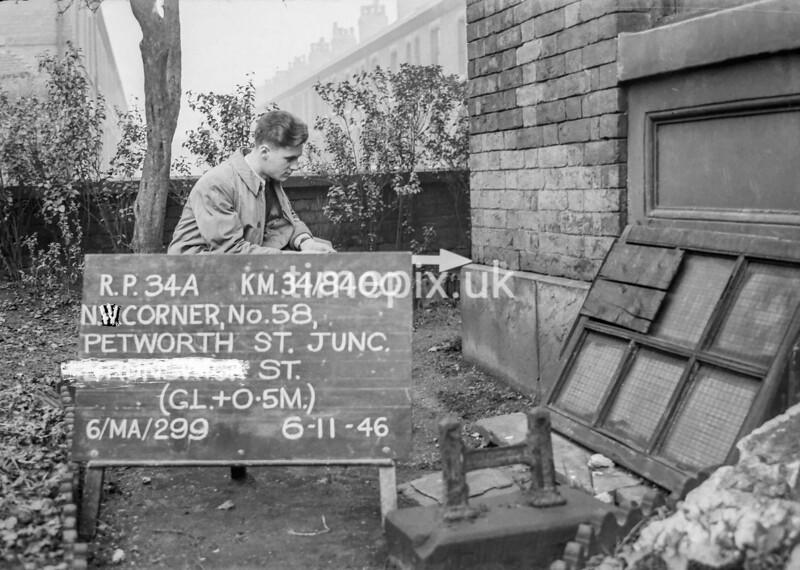 SD840034A, Ordnance Survey Revision Point photograph in Greater Manchester