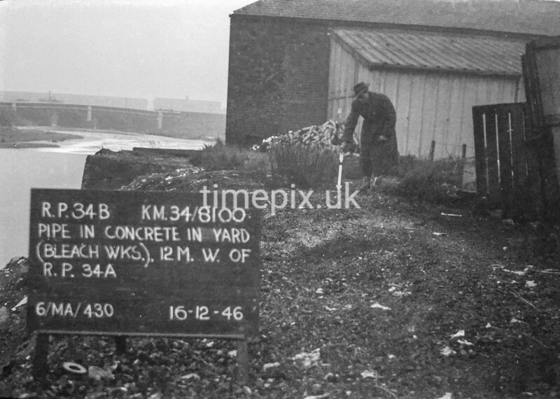 SD810034B, Ordnance Survey Revision Point photograph in Greater Manchester