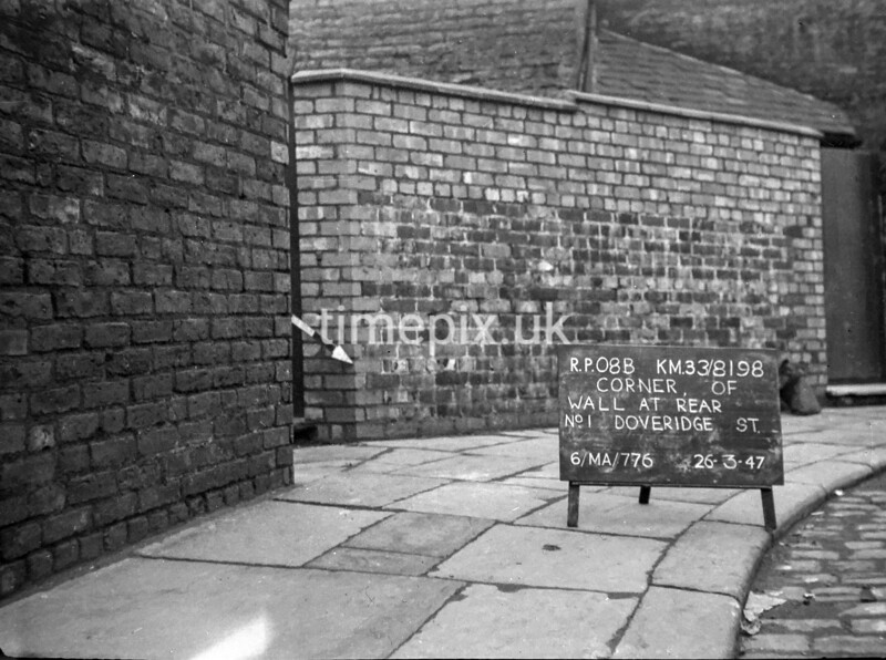 SJ819808B, Ordnance Survey Revision Point photograph in Greater Manchester