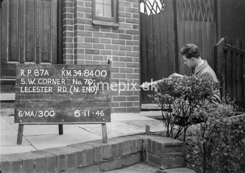 SD840087A, Ordnance Survey Revision Point photograph in Greater Manchester