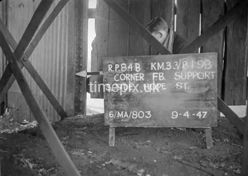 SJ819884B, Ordnance Survey Revision Point photograph in Greater Manchester