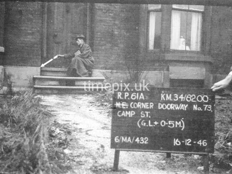 SD820061A, Ordnance Survey Revision Point photograph in Greater Manchester