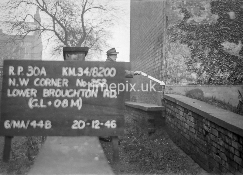 SD820030A, Ordnance Survey Revision Point photograph in Greater Manchester