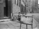 SJ839734K, Ordnance Survey Revision Point photograph in Greater Manchester