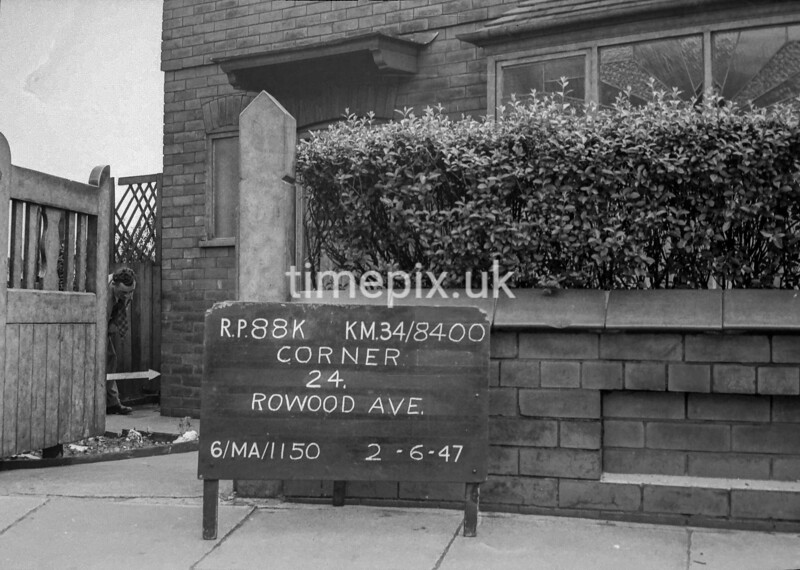 SD840088K, Ordnance Survey Revision Point photograph in Greater Manchester
