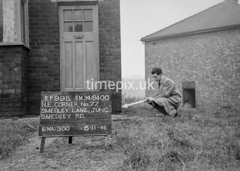SD840099B, Ordnance Survey Revision Point photograph in Greater Manchester