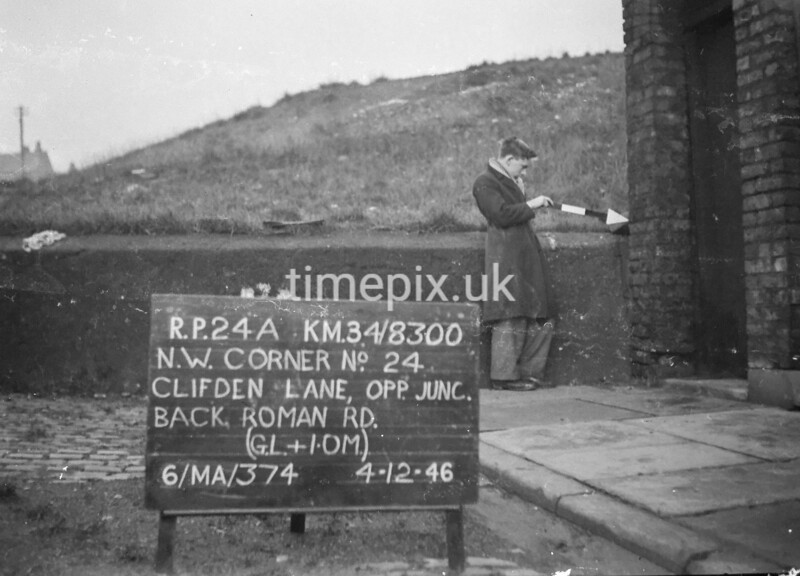SD830024A, Ordnance Survey Revision Point photograph in Greater Manchester