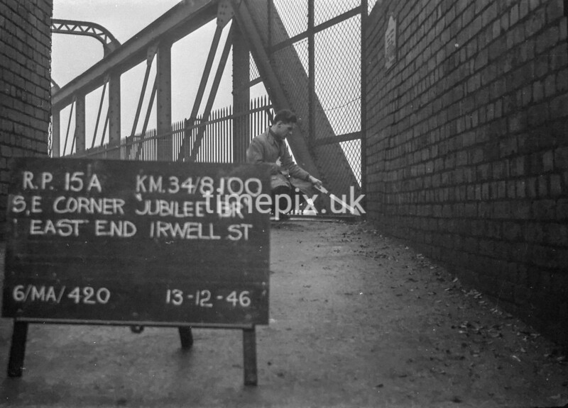 SD810015A, Ordnance Survey Revision Point photograph in Greater Manchester