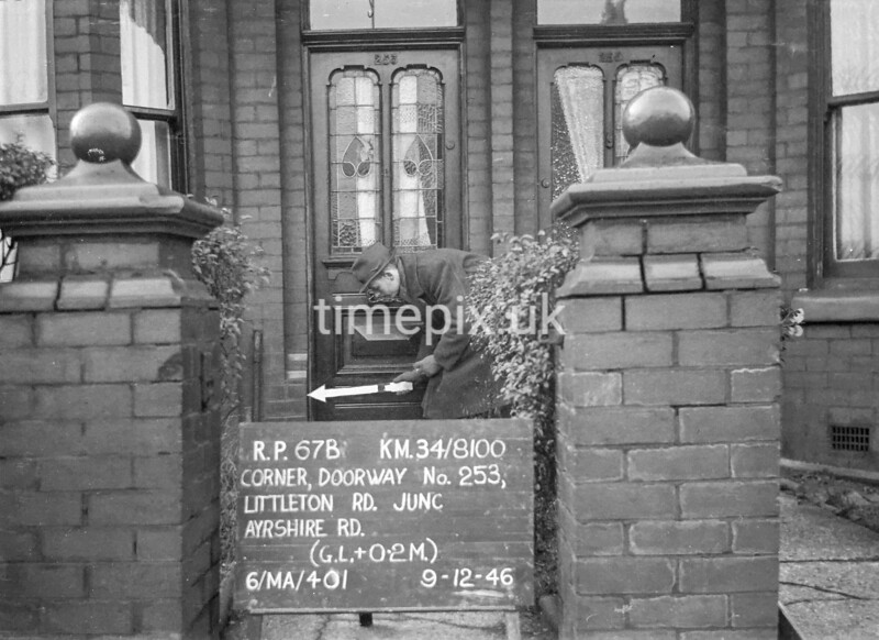 SD810067B, Ordnance Survey Revision Point photograph in Greater Manchester