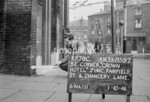 SJ859776C, Ordnance Survey Revision Point photograph in Greater Manchester