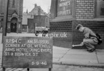 SJ859894C, Ordnance Survey Revision Point photograph in Greater Manchester