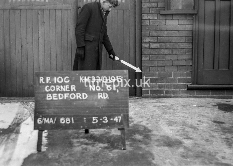 SJ819510C, Ordnance Survey Revision Point photograph in Greater Manchester