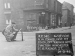 SJ839634B, Ordnance Survey Revision Point photograph in Greater Manchester