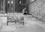 SJ859538B, Ordnance Survey Revision Point photograph in Greater Manchester