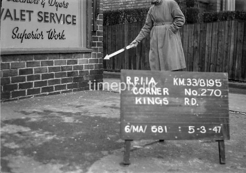 SJ819511A, Ordnance Survey Revision Point photograph in Greater Manchester