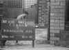 SJ899593B, Ordnance Survey Revision Point photograph in Greater Manchester