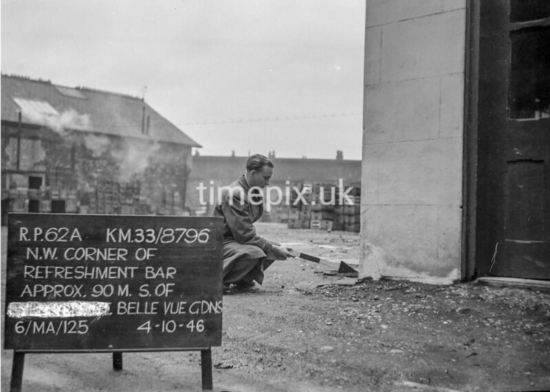 SJ879662A, Ordnance Survey Revision Point photograph in Greater Manchester