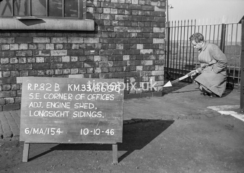 SJ869682B, Ordnance Survey Revision Point photograph in Greater Manchester