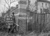 SJ909584A, Ordnance Survey Revision Point photograph in Greater Manchester