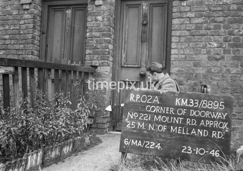 SJ889502A, Ordnance Survey Revision Point photograph in Greater Manchester