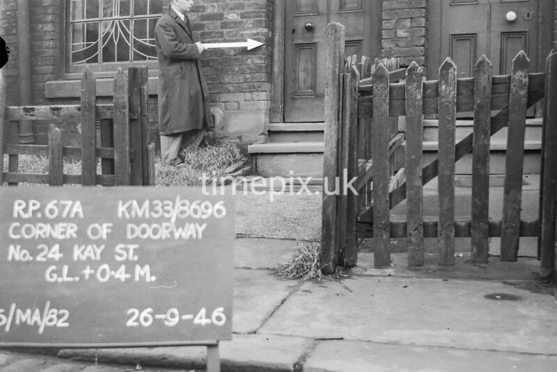 SJ869667A, Ordnance Survey Revision Point photograph in Greater Manchester
