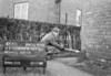 SJ869550L, Ordnance Survey Revision Point photograph in Greater Manchester