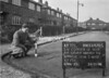 SJ879575L, Ordnance Survey Revision Point photograph in Greater Manchester