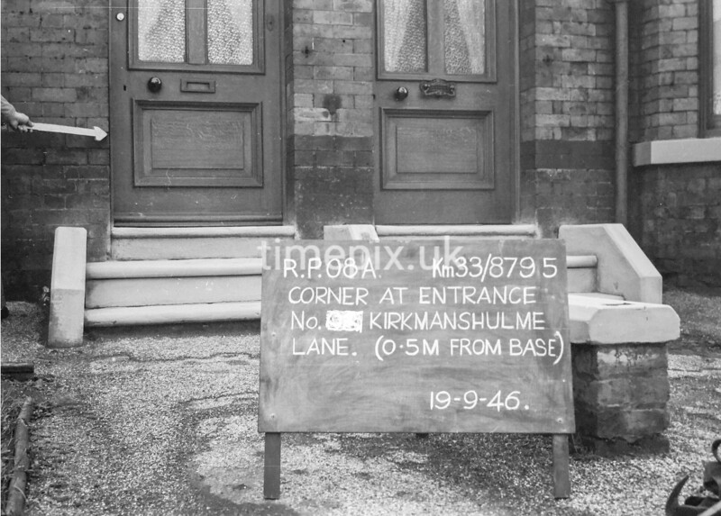 SJ879508A, Ordnance Survey Revision Point photograph in Greater Manchester
