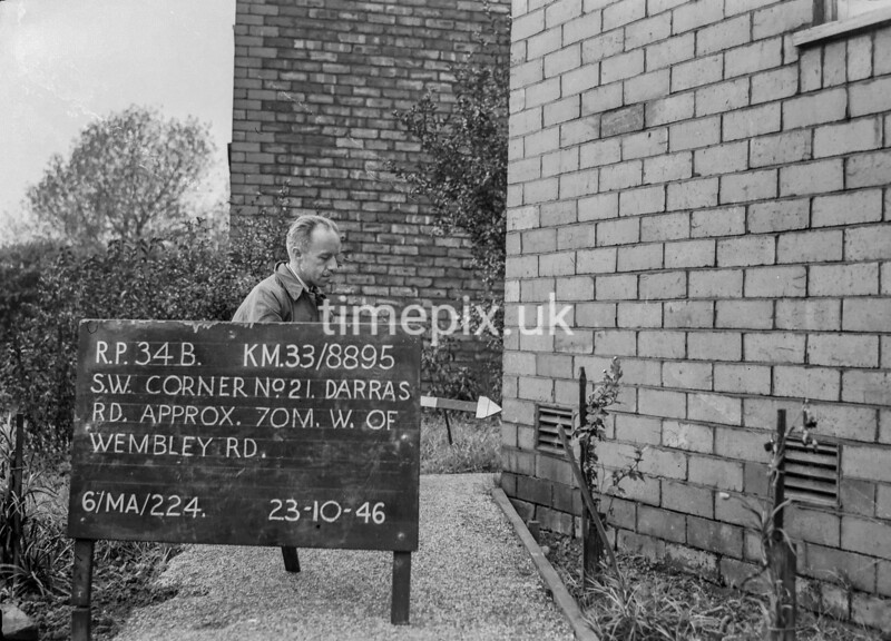 SJ889534B, Ordnance Survey Revision Point photograph in Greater Manchester