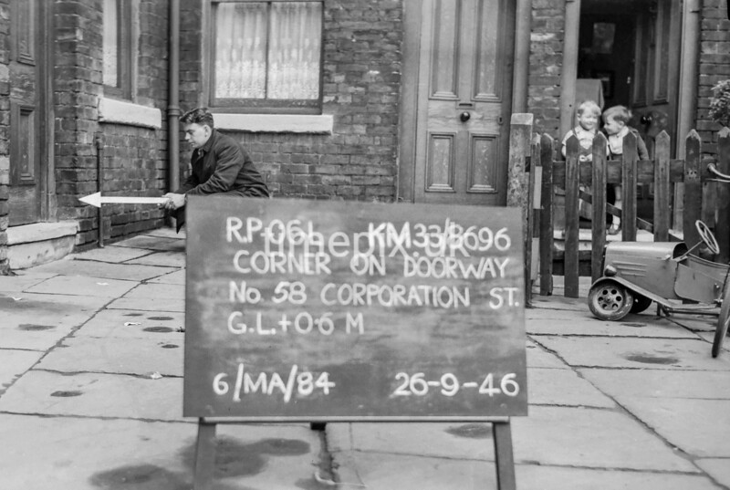 SJ869606L, Ordnance Survey Revision Point photograph in Greater Manchester