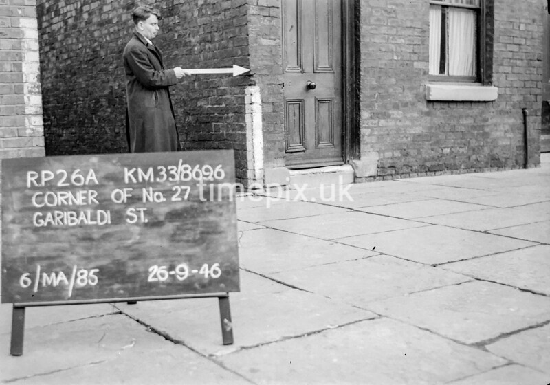 SJ869626A, Ordnance Survey Revision Point photograph in Greater Manchester