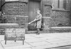 SJ869559B, Ordnance Survey Revision Point photograph in Greater Manchester