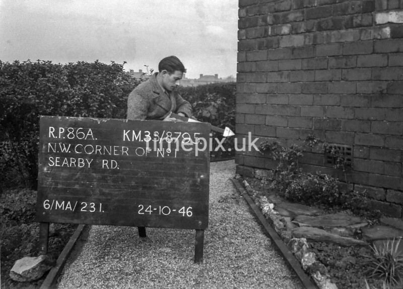SJ879586A, Ordnance Survey Revision Point photograph in Greater Manchester