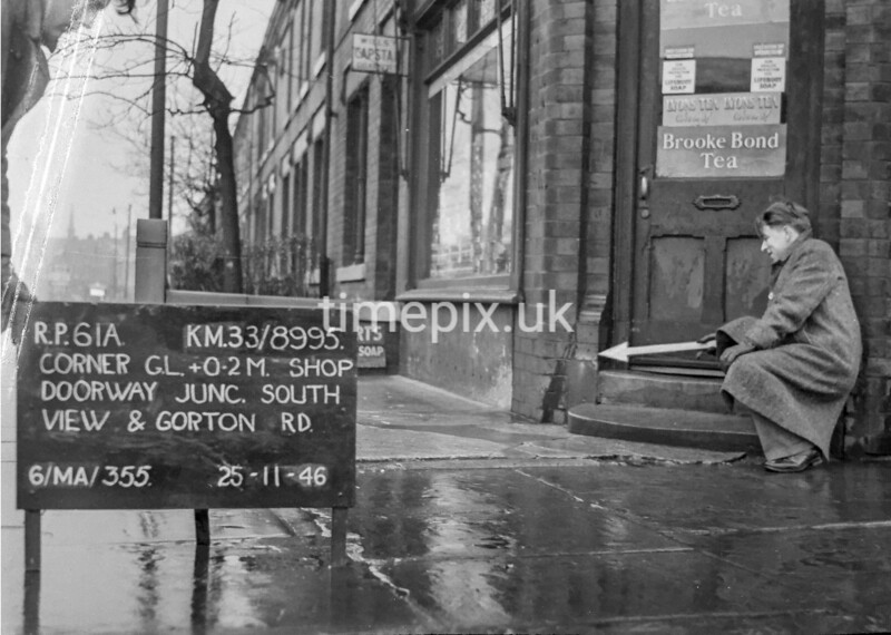 SJ899561A, Ordnance Survey Revision Point photograph in Greater Manchester
