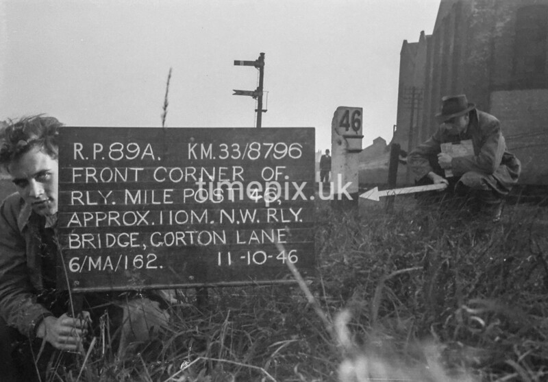 SJ879689A, Ordnance Survey Revision Point photograph in Greater Manchester